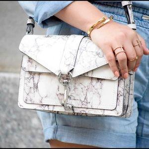 NWOT RARE Rebecca Minkoff Marble crossbody bag